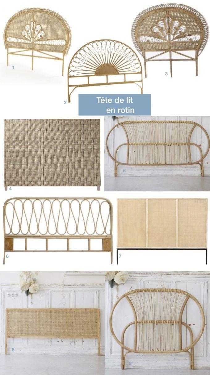Où trouver une tête de lit en rotin - Blog Déco | Tête de ...
