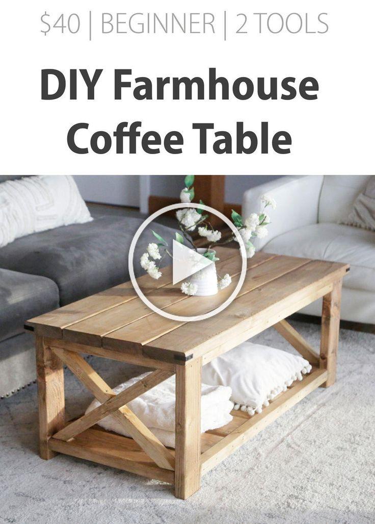 Farmhouse Coffee Table [Beginner/Under 40] Ana White