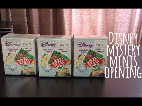 Disney Mystery Mini Blind Box Opening!