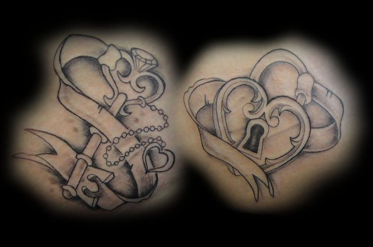 Key To My Heart Tattoo Designs key and lock drawings ...
