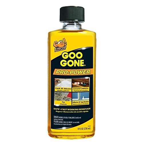 Goo Gone 2037 Pro Power Surface Safe, Remover, Great Cleaner, No Harsh Odors, 8 oz
