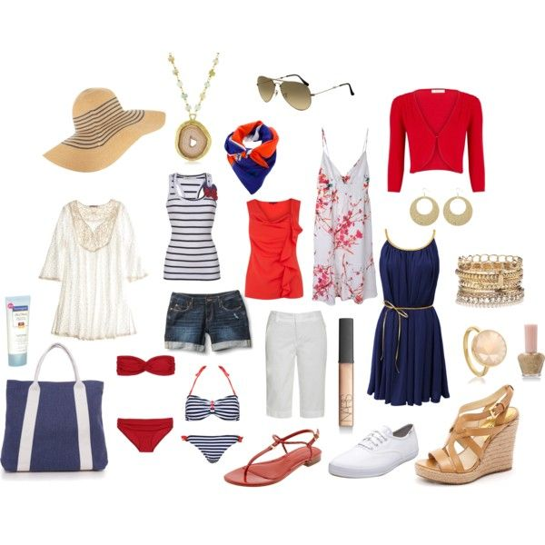 """packing for mexico"" by suedotc on Polyvore"