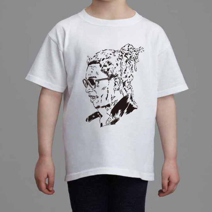 Young Thug Kids White Tee (Unisex) // Slime season barter 6 thugger stoner cesar the ape // Babes & Gents // www.babesngents.com