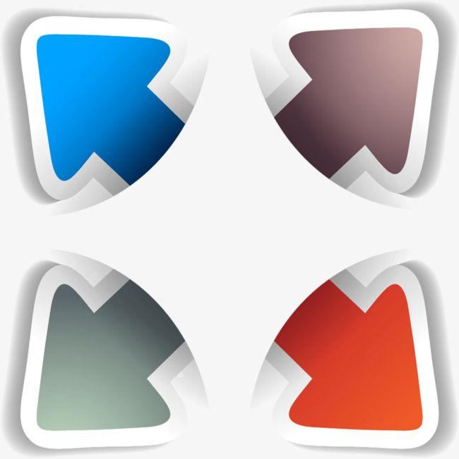 color classification arrow  color clipart  ppt  flow chart