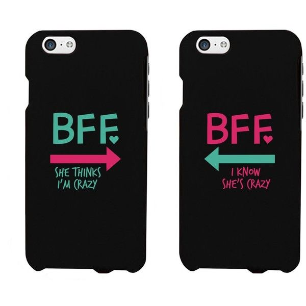 Funny BFF Phone Cases Crazy Best Friend Phone Covers for iphone 4, iphone 5, iphone 5C, iphone 6, iphone 6 plus, Galaxy S3, Galaxy S4, Galaxy S5, HTC M8, LG G3...