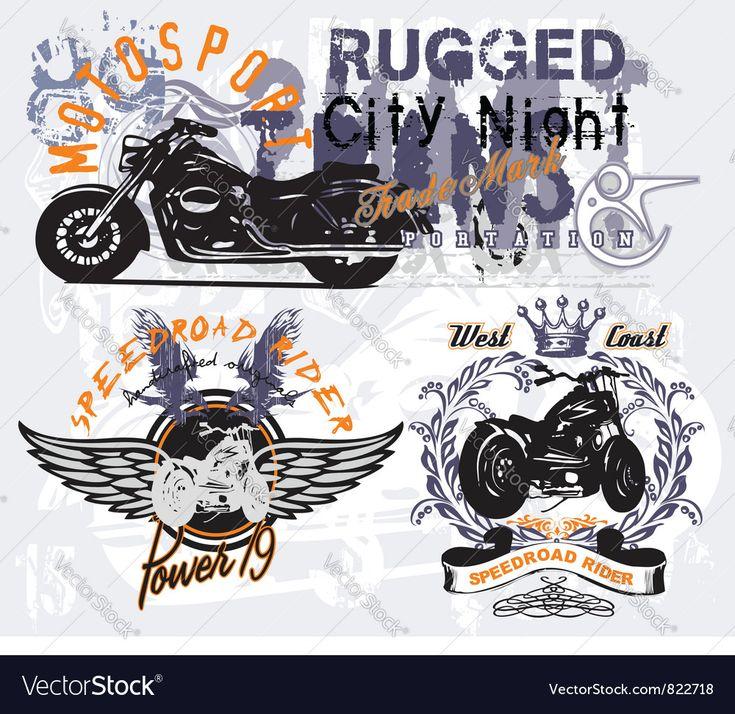 Speedroad rider Royalty Free Vector Image VectorStock
