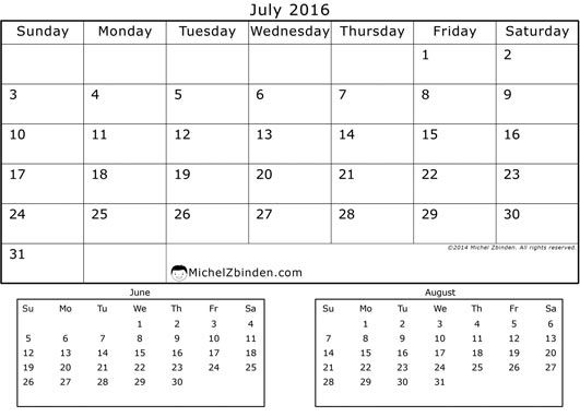 june and july calendar radiovkm