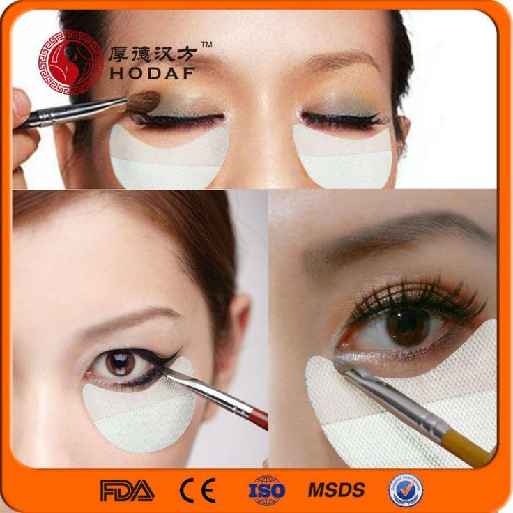 Free shipping beauty eye Shadow Shields Perfect Eye Makeup Applicator Eye Shadow Shields 100 pairs per lot