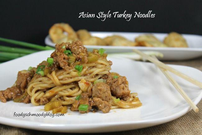 Asian Style Turkey Noodles