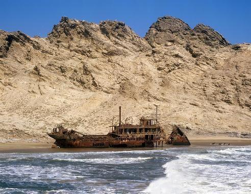 skeleton+coast | Skeleton Coast of Namibia