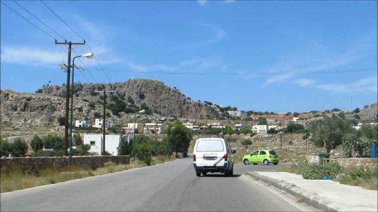 Grecja - Rodos. Samochodem Po Wyspie.