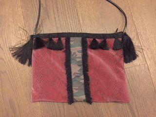 Borse a tracolla - Pom Pom bag - un prodotto unico di LesCles su DaWanda