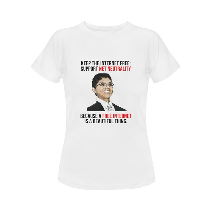 Chocolate Rain Net Neutrality Women's Classic T-Shirt