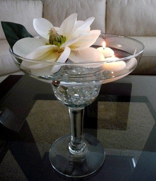 Best martini glass decor images on pinterest