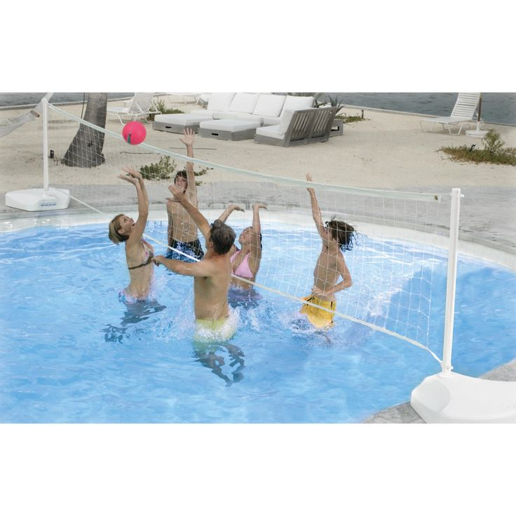 Dunn Rite Water Volly Portable Pool Volleyball Set - V400