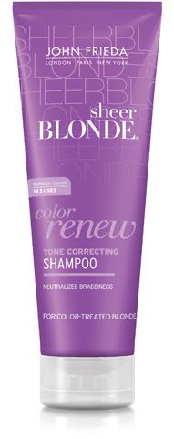 One of the all time best shampoos for blonde hair, a purple shampoo is the holy grail and the cornerstone of blonde hair care. Sometimes, especially for at home colorists, blonde hair winds up turning brassy or yellow because of natural fading. To help combat this unsightly color combination, purple shampoo helps to rid your blonde locks of unwanted and unnatural tones by lightening and neutralizing brass.
