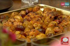 Ricetta Pollo spagnolo con chorizo e patate - Cucina con Nigella
