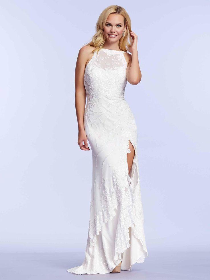 White is a new black! #biała #suknia #wieczorowa. A może nada się też do ślubnej stylizacji?   #bestweddingdress #wedding #bride