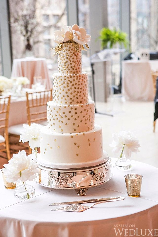 A Classic Gold and Ivory Wedding With Touches of Spring | Photography by: Crimson Photos | WedLuxe Magazine