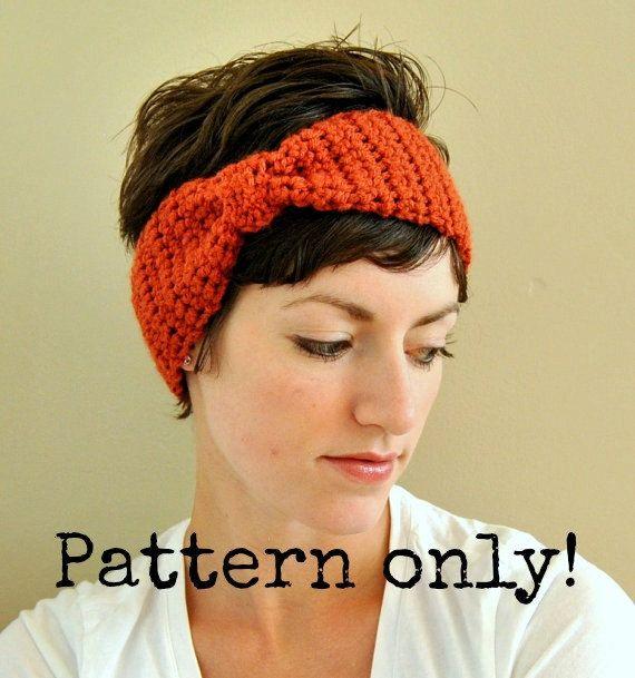 130 besten Crochet Ear Warmers Bilder auf Pinterest | Häkelideen ...