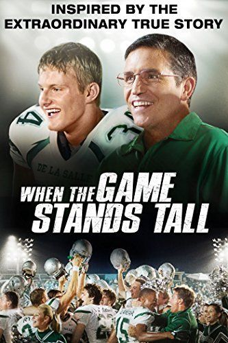 Checkout the movie 'When The Game Stands Tall' on Christian Film Database: http://www.christianfilmdatabase.com/review/when-the-game-stands-tall-2/