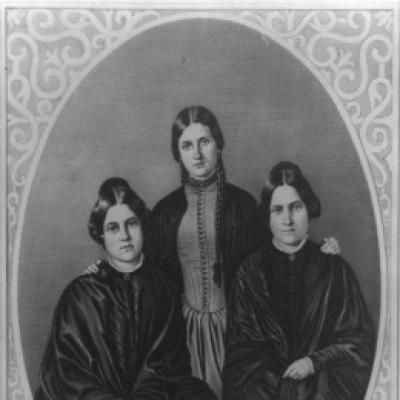 One Spooky Scary Century: Supernatural Events of the 1800s: The Fox Sisters Communicated With Spirits of the Dead