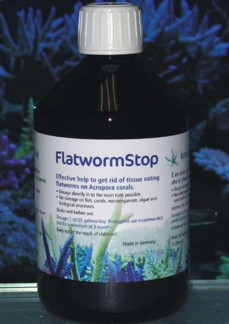 Korallen-Zucht Zeovit Flatworm Stop