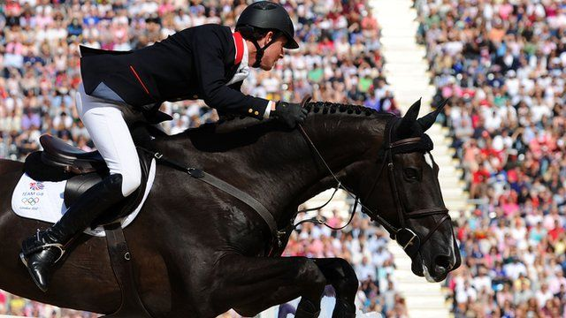 Great Britain captured their first Olympic showjumping gold medal in 60 years, winning a dramatic jump-off against the Netherlands.