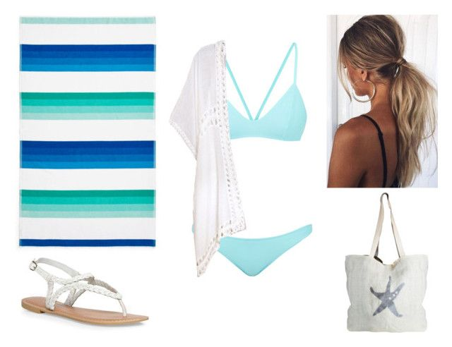 """""""BEACH summer 2017"""" by paoladouka on Polyvore featuring Bower, Sky, Dorothy Perkins and ASPIGA"""