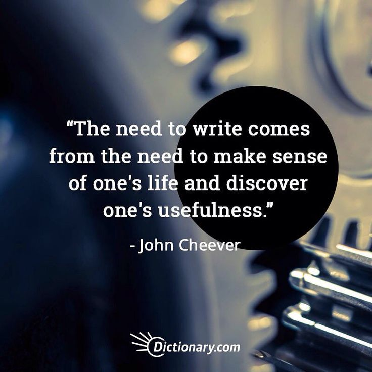 Why do you feel like you need to write? #quoteoftheday #quotesdaily #quote