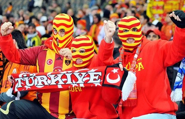 Galatasaray supporters = devoted, cold or just scary
