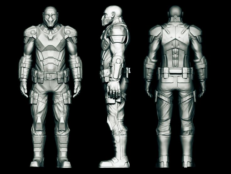 Behance :: Editing Concept-soldier