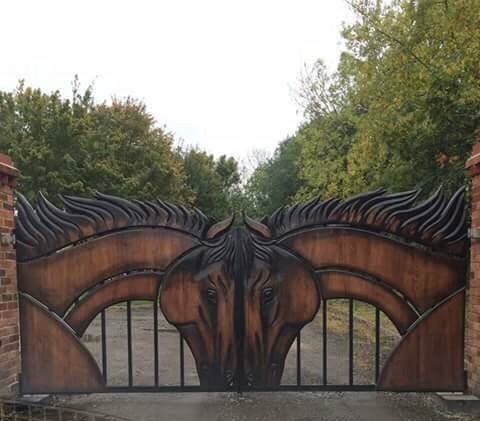 Horse Gates Paard Amp Staal Pinterest Gates And Horses