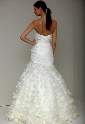 Monique Lhuillier Erfly Wedding Dress Back