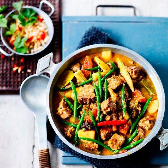 Lamb massaman curry - Woman And Home