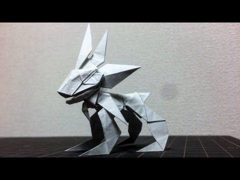 折り紙 ソルガレオ 伝説のポケモン サンムーン   Origami pokemon Solgaleo - YouTube