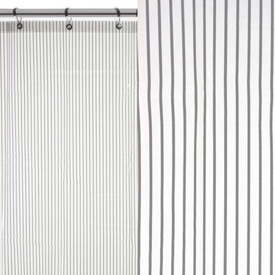The Tokyo Shower Curtain presents stylish stripes, adding a fresh and minimalist touch to your bathroom. The sophisticated Tokyo shower curtain is mildew resistant and 100% waterproof, made from a soft touch Peva material. Finished with nickel plated rustproof eyelets. 180 x 180cm. £7.99 from The Range.
