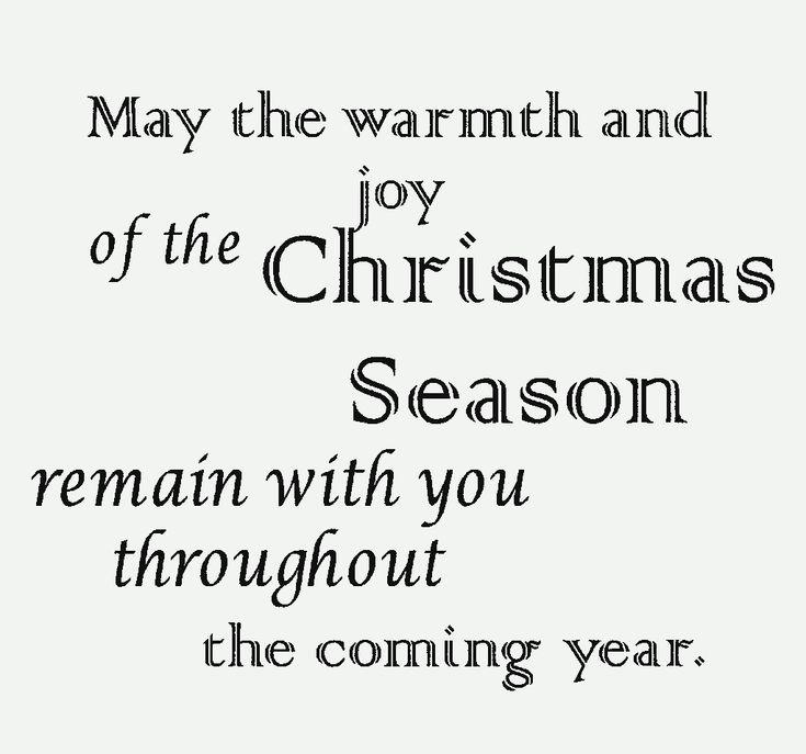 Christmas Card Sayings Merry
