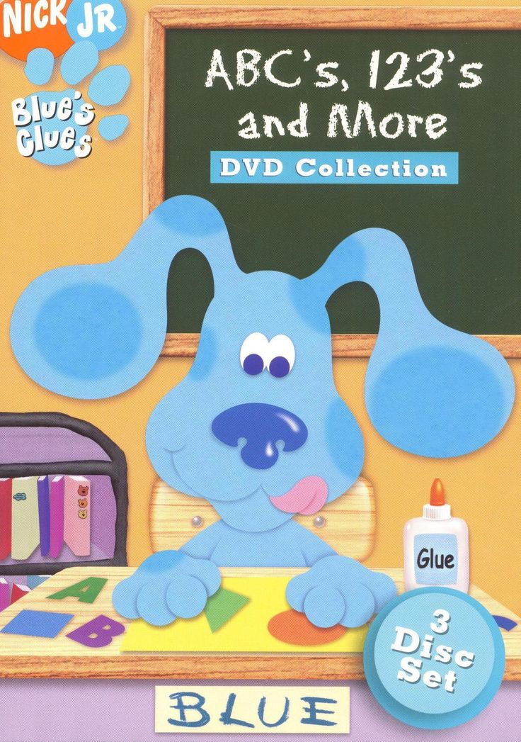 Blue S Clues Abc S 123 S And More Dvd Collection