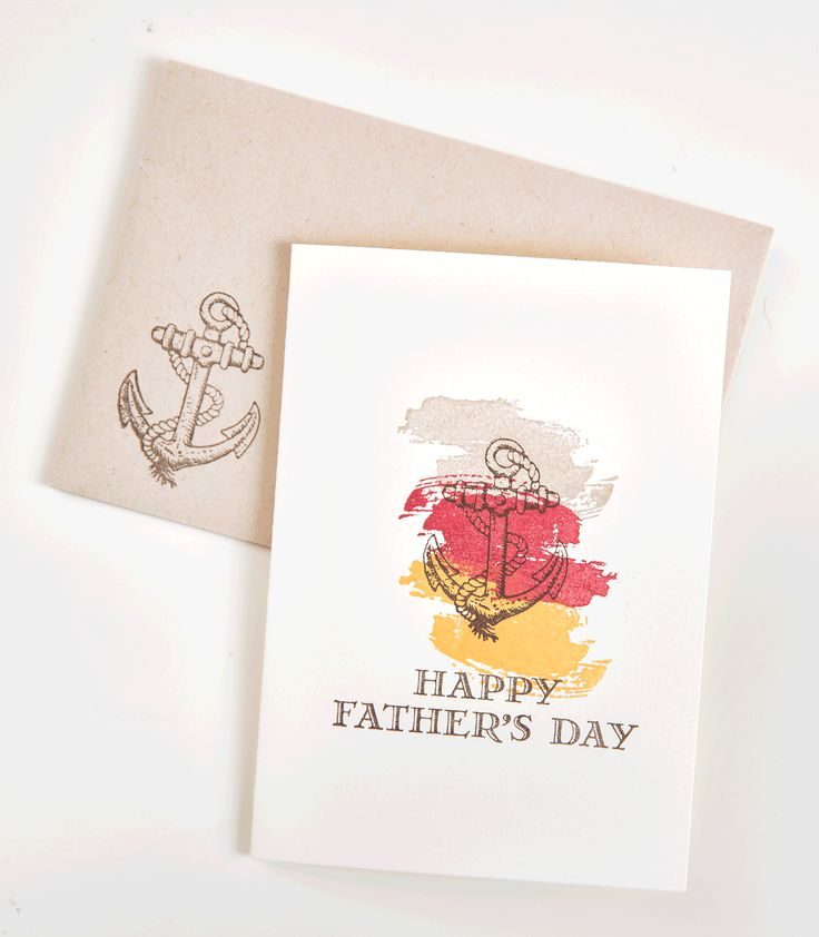 We love the masculine imagery of the Guy Greetings stamp set.