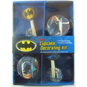 Batman Cup Cake Decorating Kit