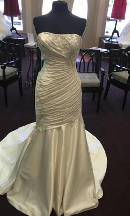 Mori Lee 1616 8: buy this dress for a fraction of the salon price on PreOwnedWeddingDresses.com #wedding #mybigday