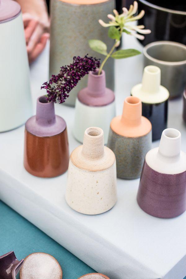 ceramic vases: http://www.tinamariecph.dk/   Die SELLERIE