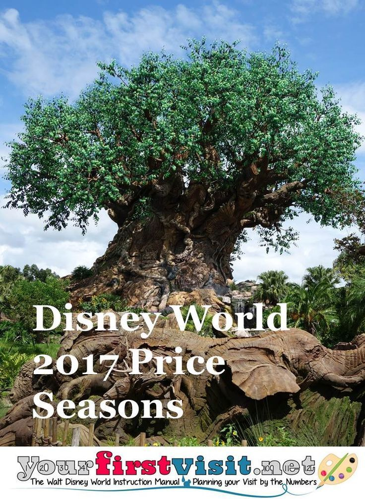 Disney World 2017 Price Seasons -  Important to know if planning your trip and budget is important to you!
