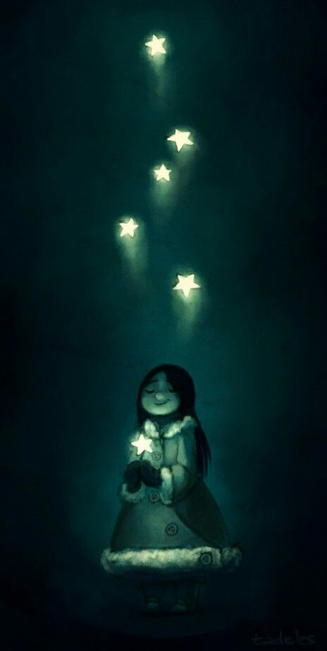 I play with stars in my dream