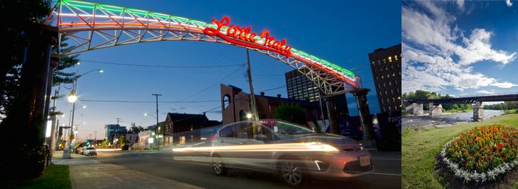 River Rat Imaging | Photography by Tina Lalonde. Little Italy Ottawa Canada. Long exposure, Preston Street