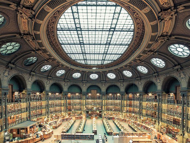"French photographer Franck Bohbot travels the world in search of some of the most beautiful book havens out there and so far has visited Paris and Rome.  He plans to travel to Europe and South America, North America and Asia next. His on-going project, House of Books, is just beginning, but he aims to ""offer a new approach in terms of atmosphere, colours and composition""."