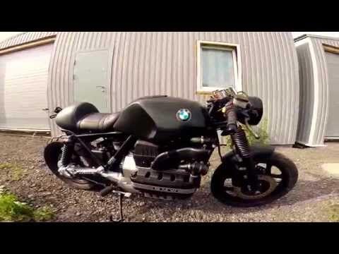 bmw k100 cafe racer - YouTube