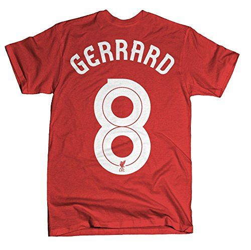 Official Liverpool FC Steven Gerrard Hero T-Shirt (Large)