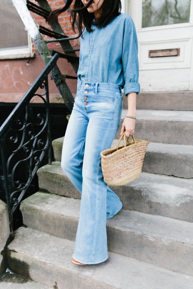 Denim on denim never gets old. Need some inspiration to be up to date on the newest denim trends? Here are 15 double denim outfit ideas to copy this summer.